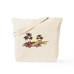 Sunset Girl Tote Bag