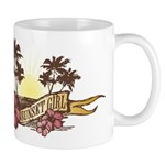 Sunset Girl Mug