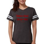 Trump +Great, Dems ÷Hate Womens Football Shirt