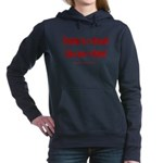Trump +Great, Dems ÷Hate Women's Hooded Sweatshirt