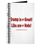 Trump +Great, Dems ÷Hate Journal