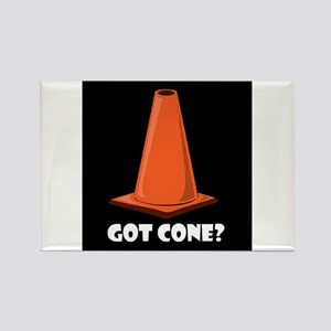 GET CONE Fun Stuff Rectangle Magnet