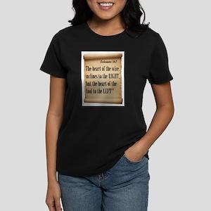 RIGHT IS RIGHT Women's Dark T-Shirt