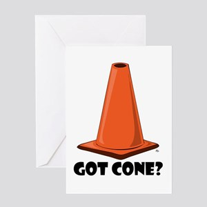 GET CONE Cards & Bags Greeting Card