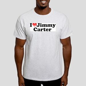 I Love Jimmy Carter Ash Grey T-Shirt