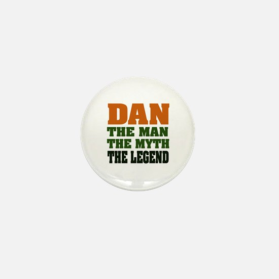DAN - The Legend Mini Button