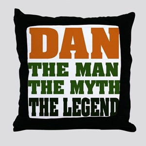 DAN - The Legend Throw Pillow