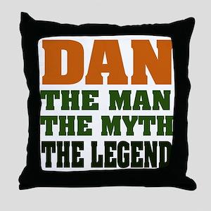 DAN - The Legend Throw Pillow