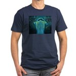 Falling Sky Men's Fitted T-Shirt (dark)