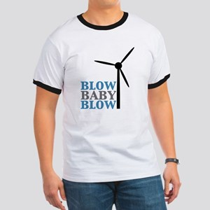 Blow Baby Blow (Wind Energy) Ringer T