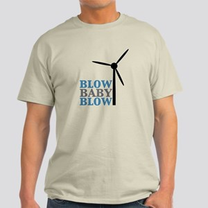 Blow Baby Blow (Wind Energy) Light T-Shirt
