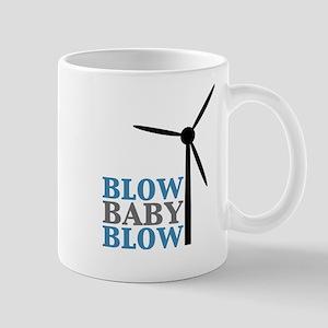 Blow Baby Blow (Wind Energy) Mug