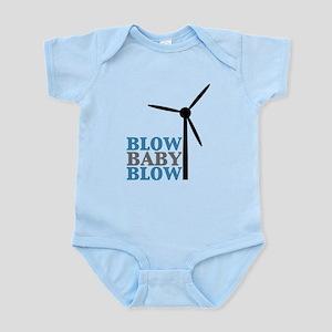 Blow Baby Blow (Wind Energy) Infant Bodysuit