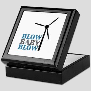 Blow Baby Blow (Wind Energy) Keepsake Box
