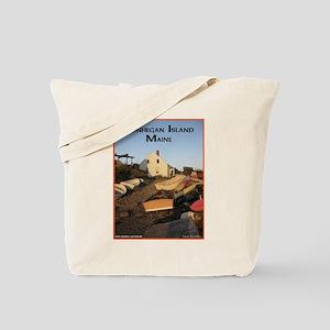 Monhegan Island Afternoon Lig Tote Bag