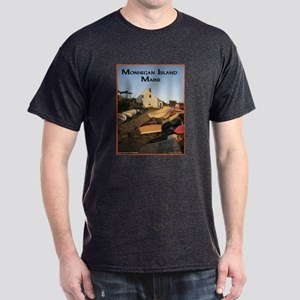 Monhegan Island Afternoon Lig Dark T-Shirt
