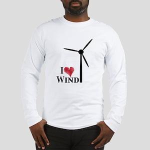 I love wind Long Sleeve T-Shirt