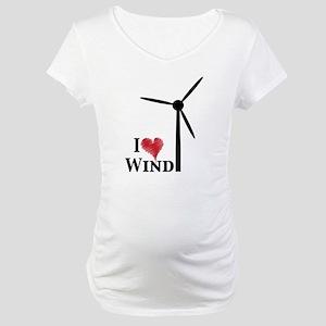 I love wind Maternity T-Shirt
