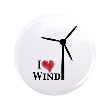 "I love wind 3.5"" Button"