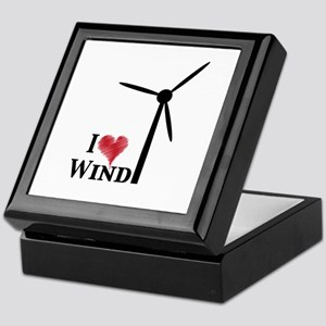 I love wind Keepsake Box