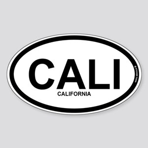 CALI - California Sticker (Oval)