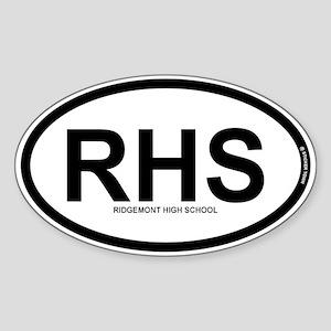 RHS - Ridgemont High School Sticker (Oval)