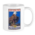 Keep Him Free Eagle Mug
