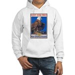 Keep Him Free Eagle (Front) Hooded Sweatshirt
