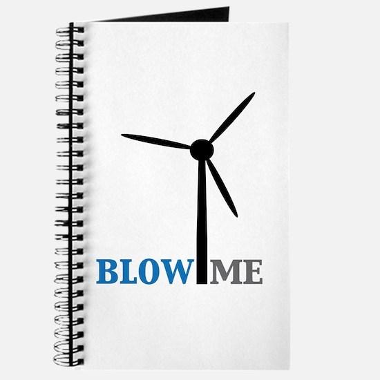 Blow Me (Wind Turbine) Journal