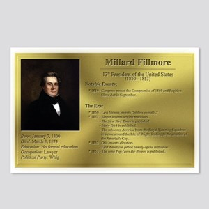 13: Millard Fillmore Postcards (8 Pack)