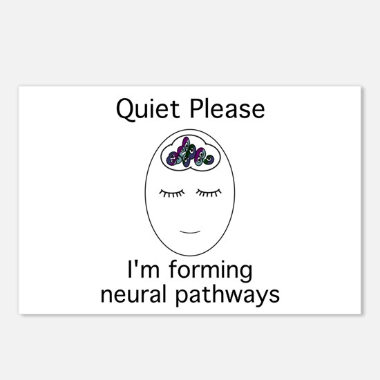 Funny Brain Postcards (Package of 8)