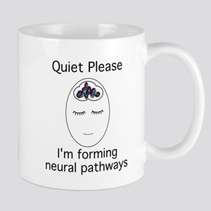 3-quietplease1 Mugs