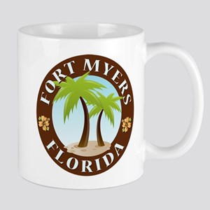Fort Myers Palm Trees Mug