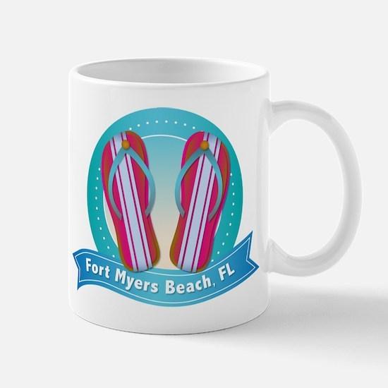 Fort Myers Beach Flipflops Mug
