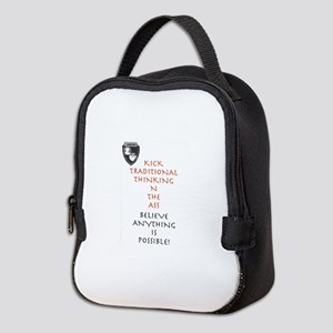 Believe Anything Is Possible! Neoprene Lunch Bag