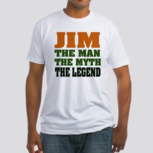 JIM - The Legend Fitted T-Shirt