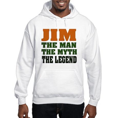 JIM - The Legend Hooded Sweatshirt