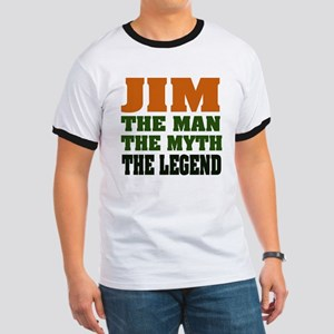 JIM - The Legend Ringer T