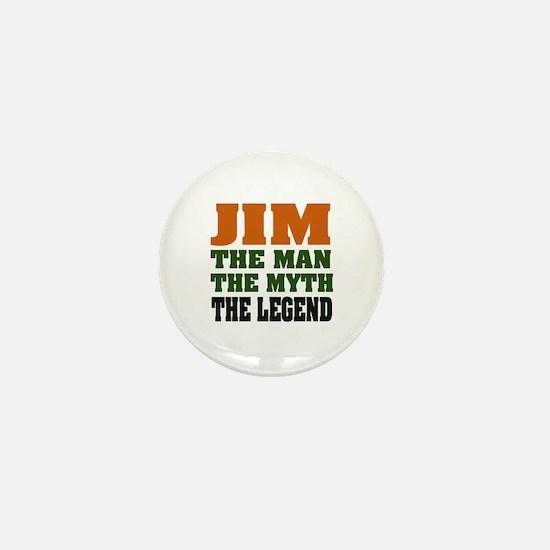 JIM - The Legend Mini Button