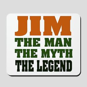 JIM - The Legend Mousepad