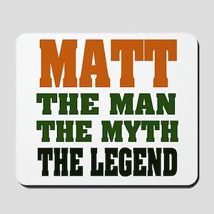 MATT - The Legend Mousepad
