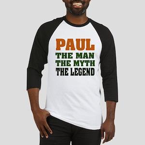 PAUL - The Legend Baseball Jersey