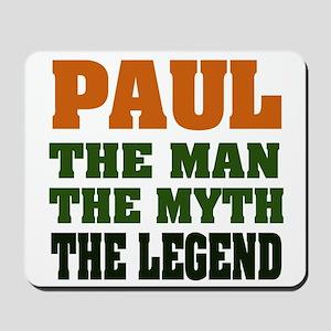 PAUL - The Legend Mousepad