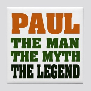 PAUL - The Legend Tile Coaster
