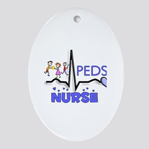Registered Nurse Specialties Ornament (Oval)
