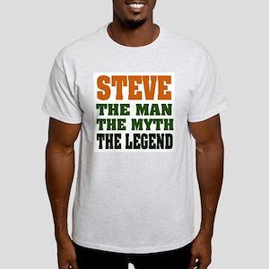 STEVE - The Legend Ash Grey T-Shirt