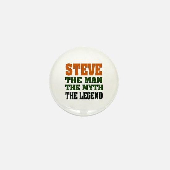 STEVE - The Legend Mini Button