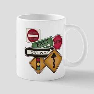 Road Signs Mug