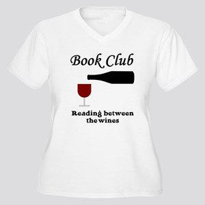 Book Club Reading Between The Women's Plus Size V-
