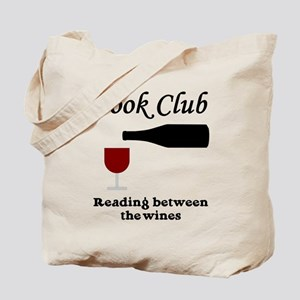 Book Club Reading Between The Tote Bag